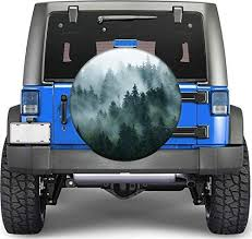 Amazon Com Cliffbennett Car Wheel Decal Woodland Decal Spare Tire Cover Forest Sticker Car Decals Car Sticker Car Accessories Car Decal For Man K126 Home Kitchen