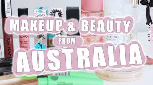 melbourne australia haul 2017 beauty