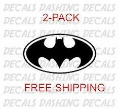 Batman Super Hero Super Marvel Capcom Spider Car Truck Window Decal Sticker 2 Mostosydestilados Cl