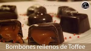 Bombones Caseros Rellenos De Caramelo Toffee Faciles Y