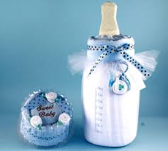 baby boy gift milk cake by silly