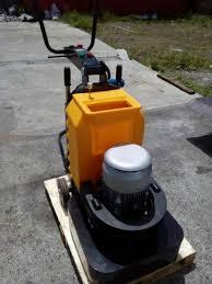 floor grinding machine concrete