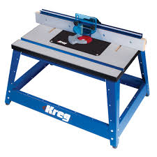 Precision Benchtop Router Table Kreg Tool
