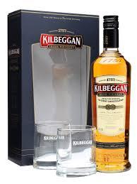 kilbeggan 2 gles gift pack the