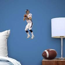Peyton Manning Fathead Teammate White Jersey