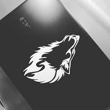 Artstation Laptop Wolf Decal Till Klima