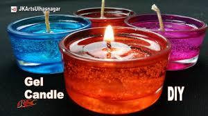 diy how to make gel candles jk arts