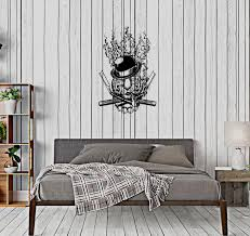 Wall Decal Tiger Animal Mafia Knife Symbol Hat Weapon Claw Pipe Vinyl Wallstickers4you