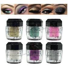 glamour glitter for makeup eye shadow