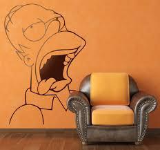 Vinilo Decorativo Homer Simpson Borracho Vinilos Vinilo Pegatinas