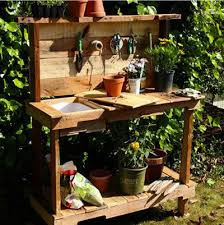 65 diy potting bench plans completely