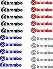 Brembo Custom Text Car And Truck Decals And Stickers For Sale Ebay