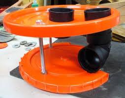 homemade cyclone separator