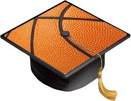 Amazon Com Basketball Basket Ball Basketball Background Grad Cap Decal Vinyl Sticker Skin For Graduation Caps Industrial Scientific