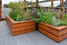 32 raised wooden garden bed designs