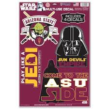 Arizona State University Car Decals Decal Sets Arizona State Sun Devils Car Decal Shop Thesundevils Com