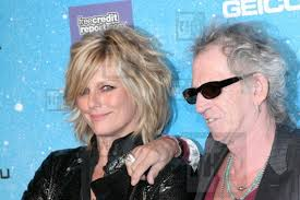 Patti Hansen and Keith Richards - The Hollywood Archive