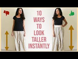 How To Look Taller Instantly   10 Style Tips To Look Tall   Himani Aggarwal  - Best Female Tips