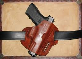 make a laser cut leather holster for