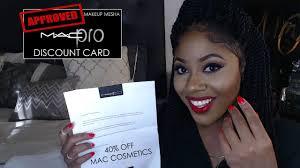 mac cosmetics pro membership card how