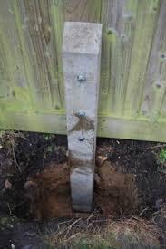 Supreme Concrete Fencing Repair Spur 100mm X 100mm X 1200mm Spr120 Travis Perkins