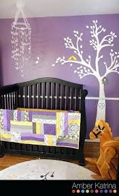 appealing yellow and grey nursery decor