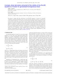 direct derivation and proof