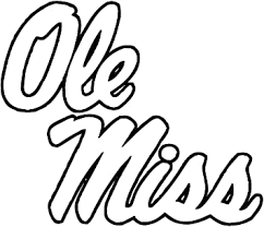 Amazon Com Tdt Printing Custom Decals Ole Miss Rebels Vinyl Decal Sticker For Car Or Truck Windows Laptops Etc Automotive