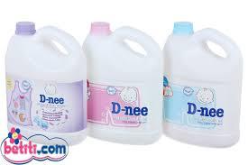 Nước giặt xả quần áo trẻ em Dnee - Dung tích 3000ml (3 lit ...