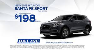 lease a new 2018 hyundai santa fe sport