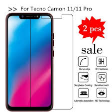 Tempered Glass For Tecno Camon 11 ...