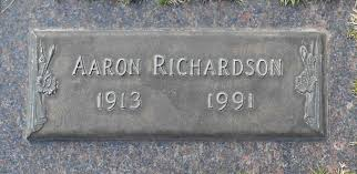 Aaron Richardson (1913-1991) - Find A Grave Memorial