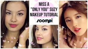 only you suzy m v kpop makeup tutorial