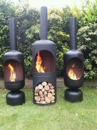 chiminea patio fireplace ideas to