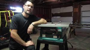 Cleaning Up Makita Table Saw Find Youtube