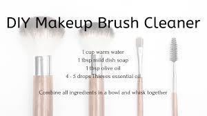 diy makeup brush cleaner sylly living