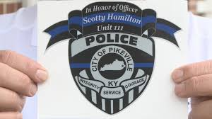 Car Decal Being Sold To Benefit Officer Scotty Hamilton S Family
