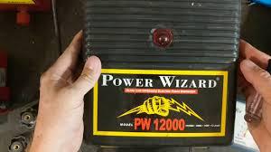 Power Wizard Pw12000 Youtube