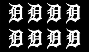 Detroit Tigers Team Vinyl Decals Phone Detroit Tigers Small Stickers S Kandy Vinyl Shop