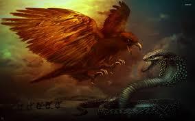eagle and cobra wallpaper fantasy