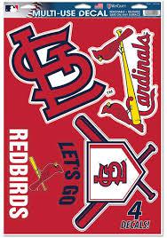 Shop St Louis Cardinals Car Decals Cardinals Window Stickers Cards Window Decals Cards Clings