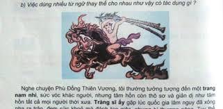 """Chủ biên sách Tiếng Việt giải thích chi tiết """"Thánh Gióng tắm ở hồ ..."""