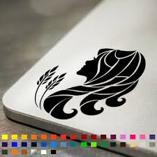 Virgo Zodiac Symbol Star Sign Vinyl Decal Sticker Laptop Car Wall Mirror Ebay