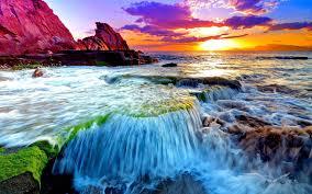 ocean sunset wallpapers pc bkda1sn