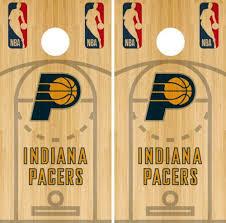 Cornhole Bag Toss Indiana Pacers Cornhole Wrap Nba Court Game Board Skin Set Vinyl Decal Co620 Sporting Goods Cub Co Jp