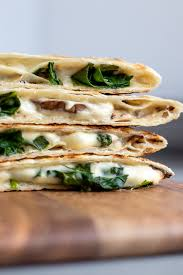 quesadillas with easy cashew cheese