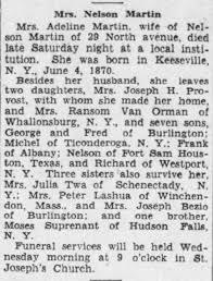 Adeline Martin Obituary - Newspapers.com
