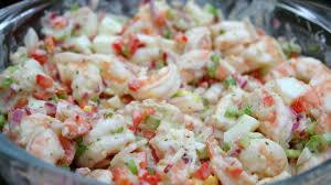 Shrimp salad with cilantro mayonnaise ...