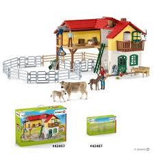 Shop Schleich Farm World Corral Fence Toy Figure Overstock 28039862