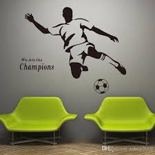 2016 New Soccer Wall Decal Sticker Sports Decoration Mural For Boys Room Wall Stickers Word Wall Art Word Wall Decals From Eshop2019 8 69 Dhgate Com